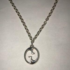 fbd5dc412 Gucci Jewelry | Love Britt Heart Pendant Necklace | Poshmark
